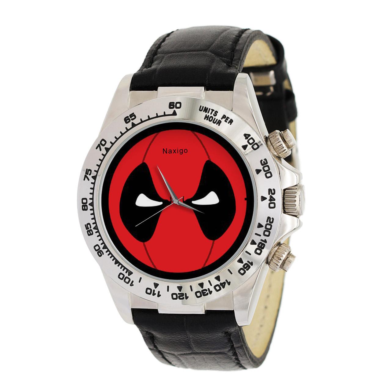 ساعت مچی  مردانه ناکسیگو طرح ددپول کد LS3534