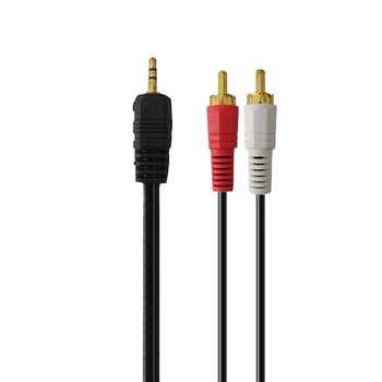 کابل تبدیل 1 به 2 3.5 میلی متری صدا دیانا مدل 223 طول 1.5 متر