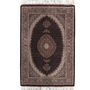 فرش دستبافت یک و نیم متری کد 621302