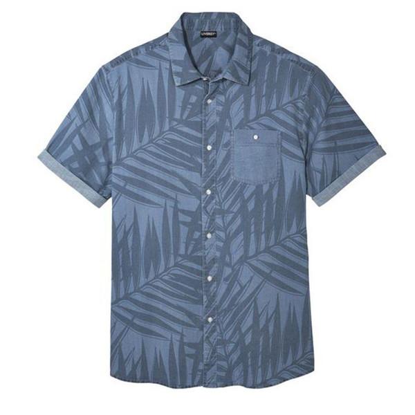 پیراهن آستین کوتاه مردانه لیورجی مدل Z-HB66