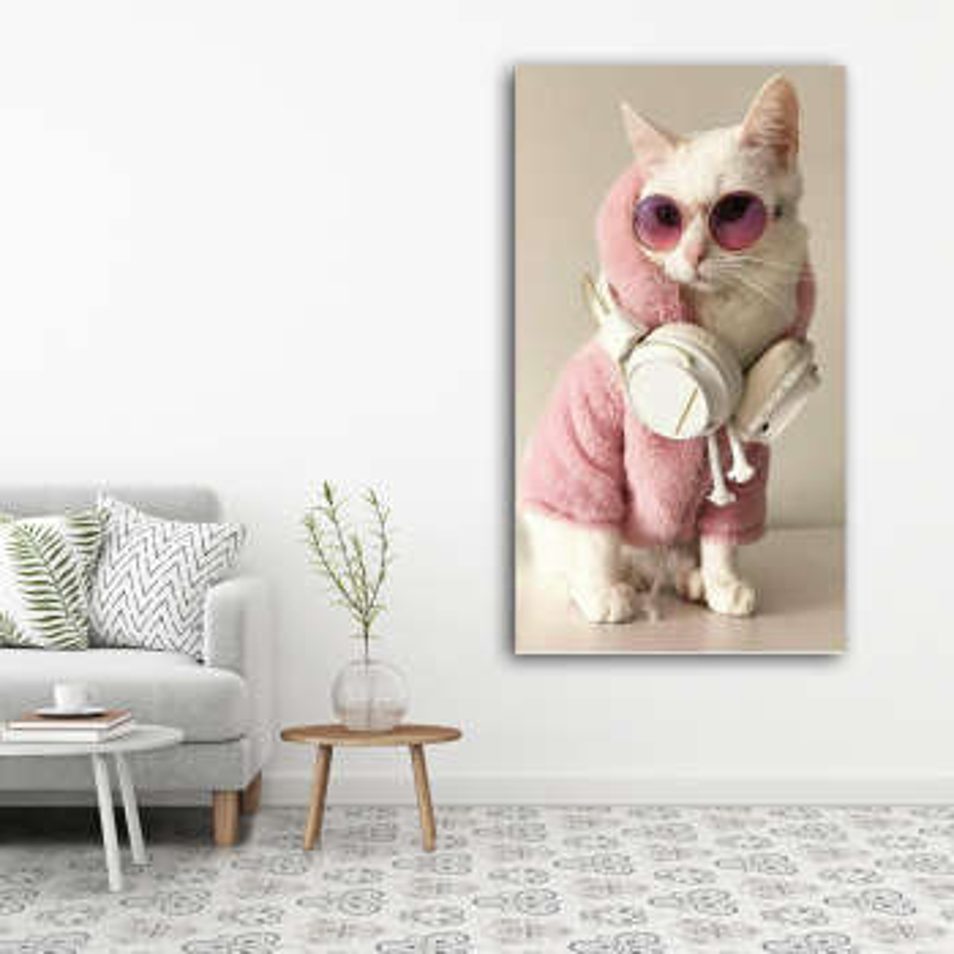 تابلوشاسی طرح گربه کد 18