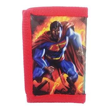 کیف پول پسرانه مدل سوپرمن کد 267