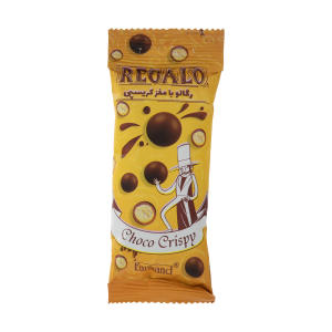دراژه کاکائویی رگالو فرمند با مغز کریسپی - 30 گرم