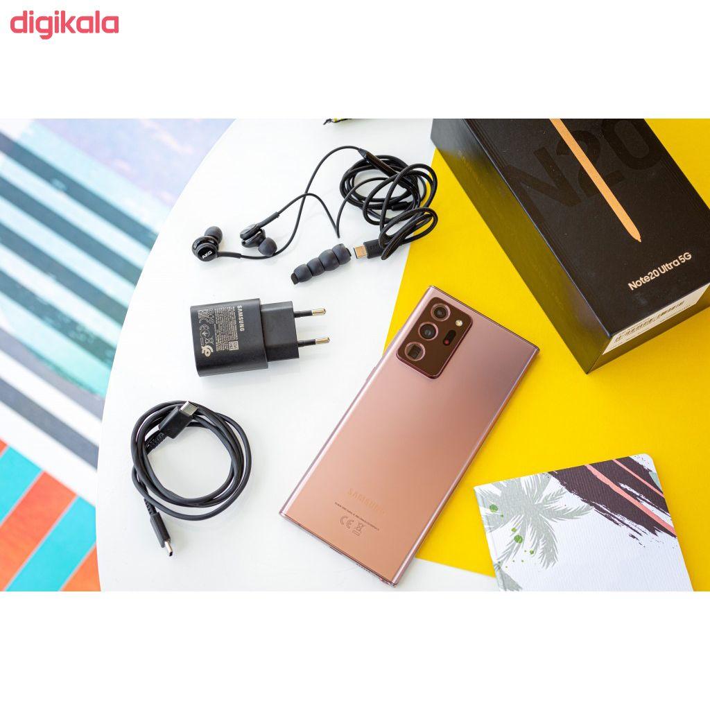 گوشی موبایل سامسونگ مدل Galaxy Note20 Ultra 5G SM-N986 دو سیم کارت ظرفیت 256 گیگابایت main 1 8