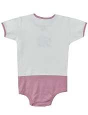بادی نوزادی دخترانه نیروان طرح گل -  - 2