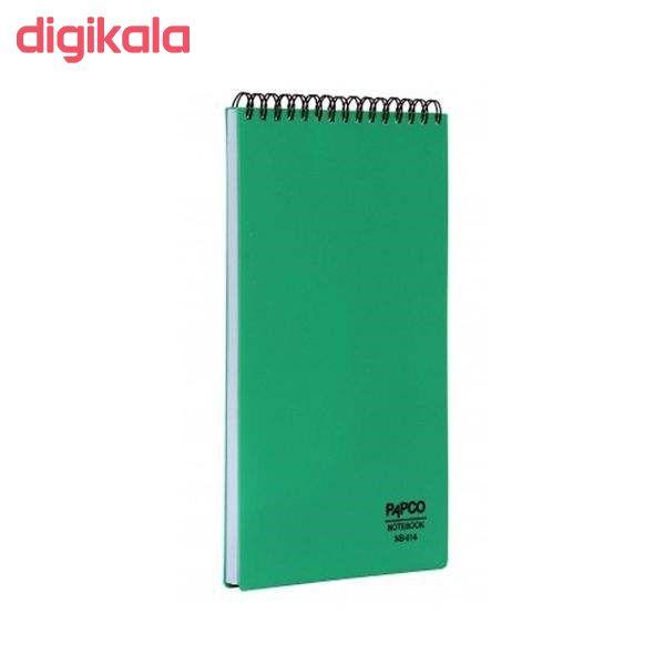 دفتر یادداشت 80 برگ پاپکو مدل مهندسی کد NB-614 main 1 1