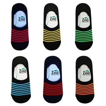 جوراب زنانه زند کد RN -88 مجموعه 6 عددی