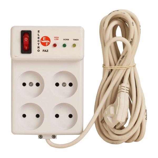 محافظ ولتاژ الکتروفاز مدل 4001