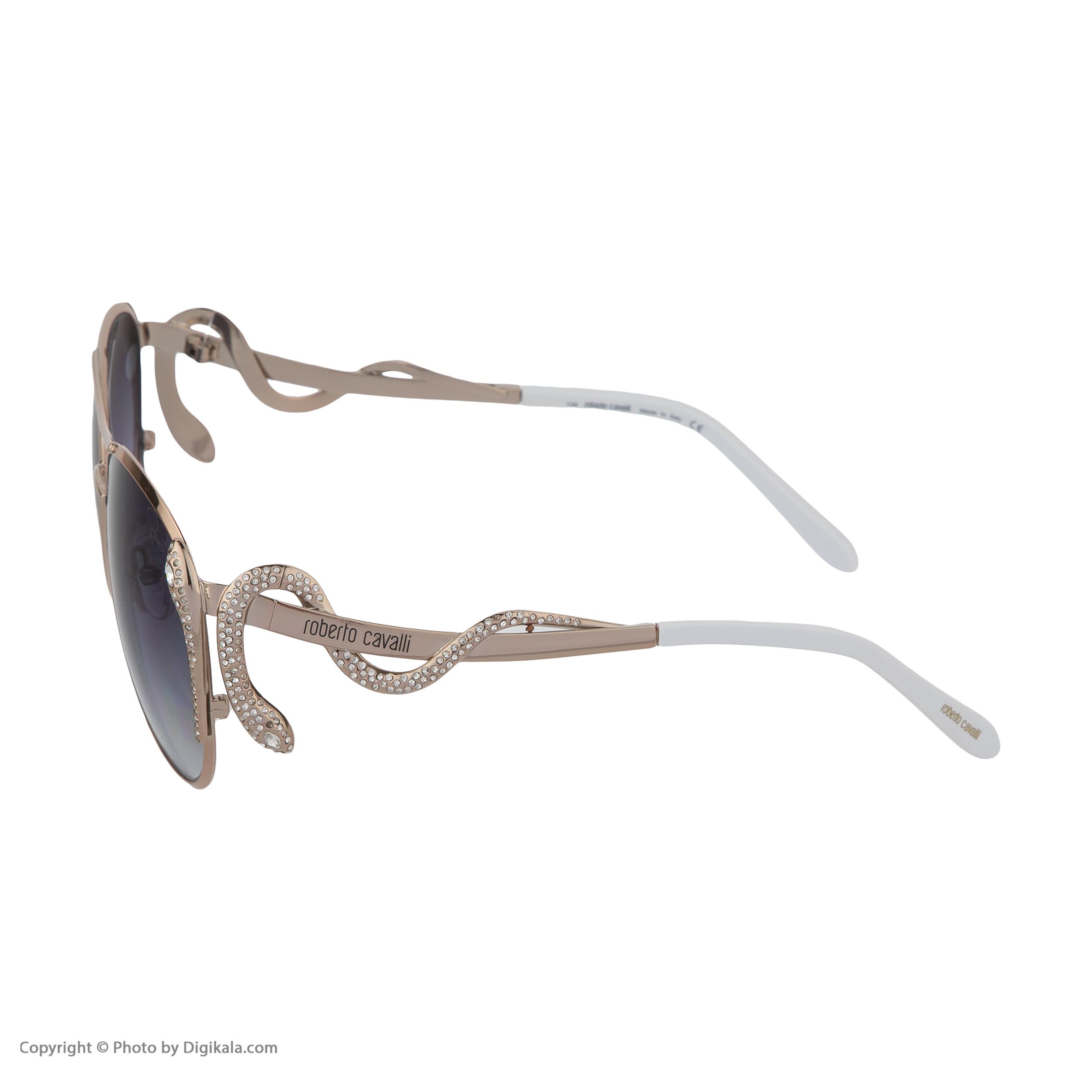 عینک آفتابی زنانه روبرتو کاوالی مدل 909 -  - 4