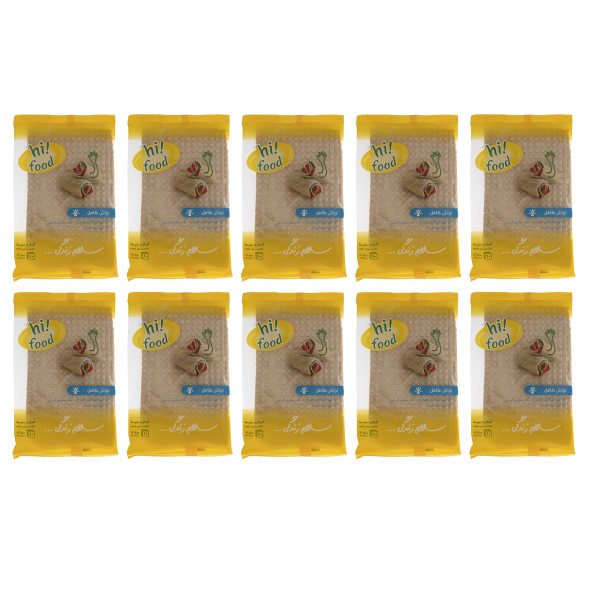 نان لواش کامل های فود - 150 گرم بسته 10 عددی