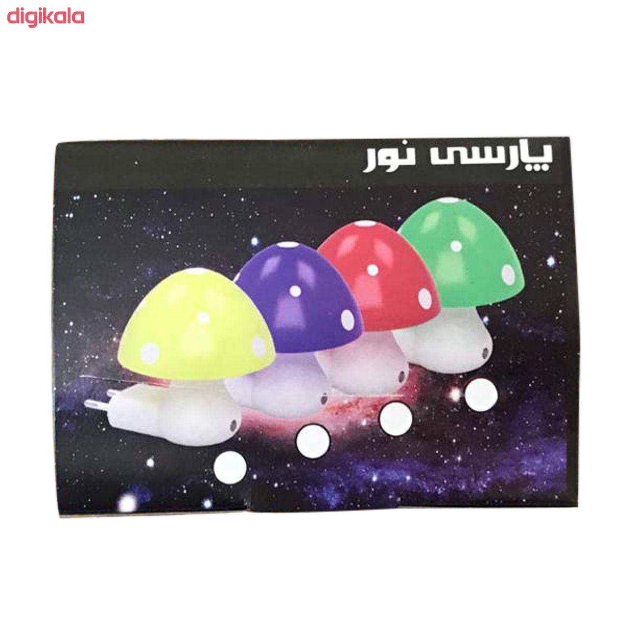 چراغ خواب کودک پارسی نو مدل Mushroom main 1 1