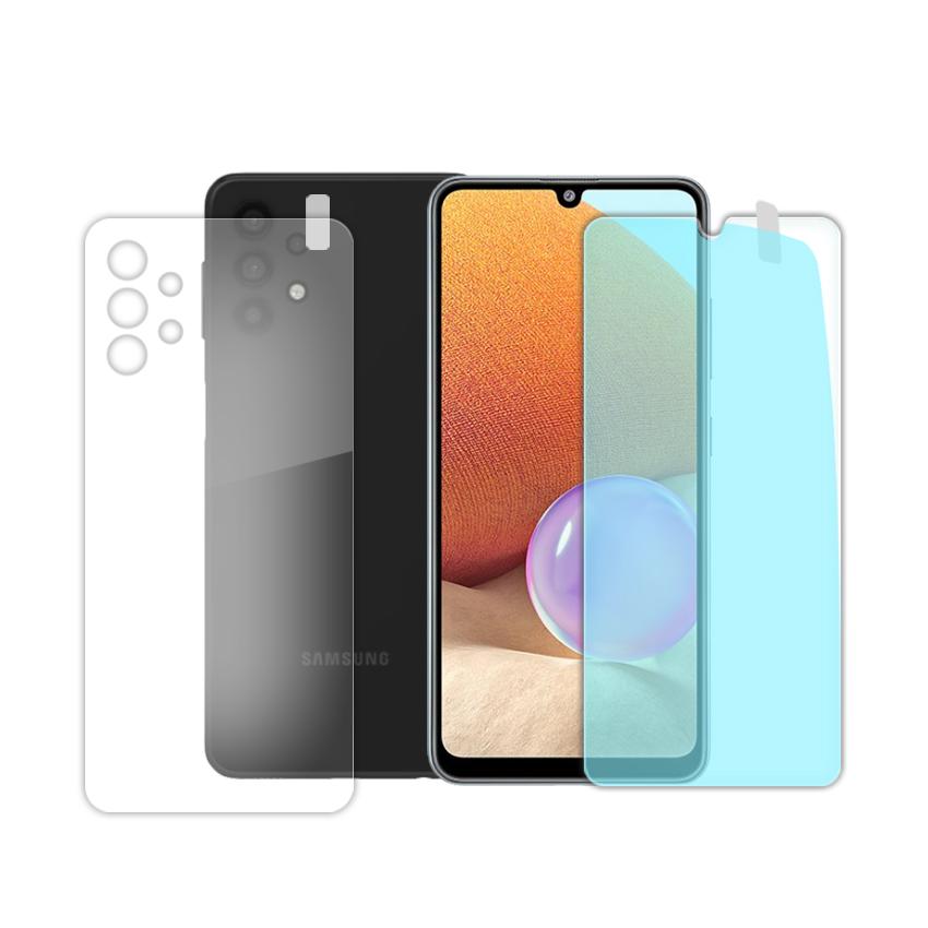 بررسی و {خرید با تخفیف} محافظ صفحه نمایش و پشت گوشی مدل Fs-08 مناسب برای گوشی موبایل سامسونگ Galaxy A32 اصل