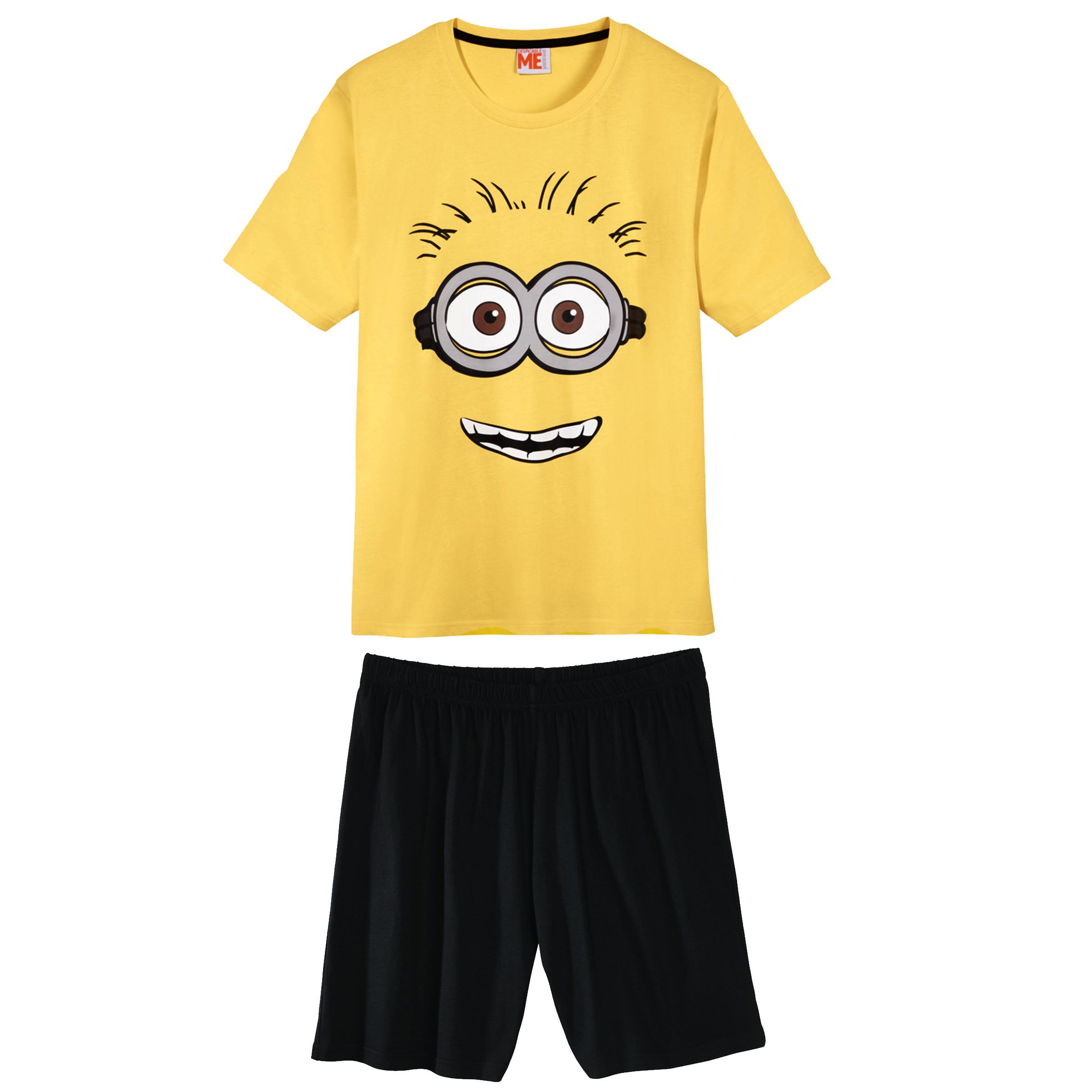 ست تی شرت و شلوارک مردانه مدل Minion
