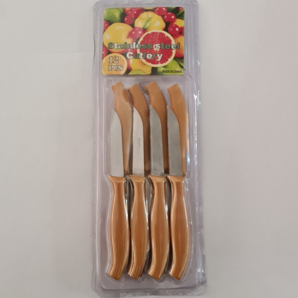 چاقو میوه خوری کد M54 بسته 12 عددی
