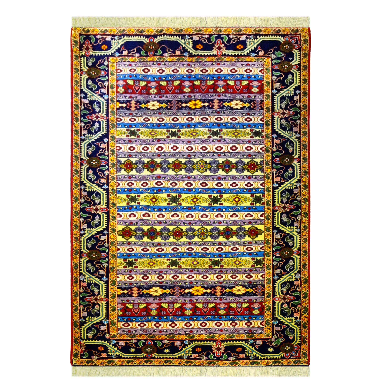 فرش دستباف دو و نیم متری کد 7008