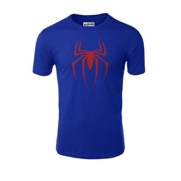 تیشرت آستین کوتاه مردانه فانتازیو طرح Spider Man مدل 251