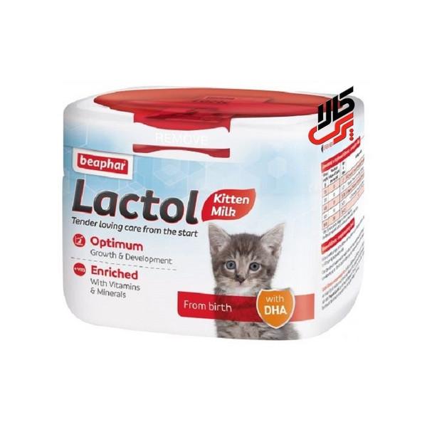 شیر خشک گربه بیفار مدل lactol وزن 250 گرم