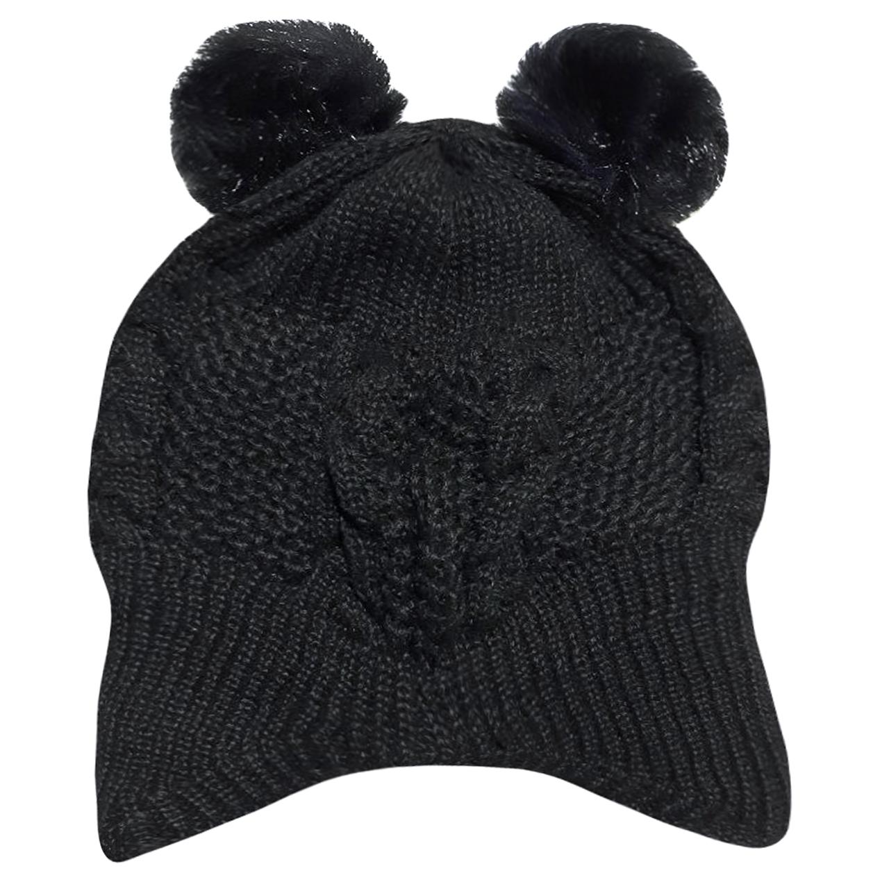 کلاه بافتنی دخترانه کد M2