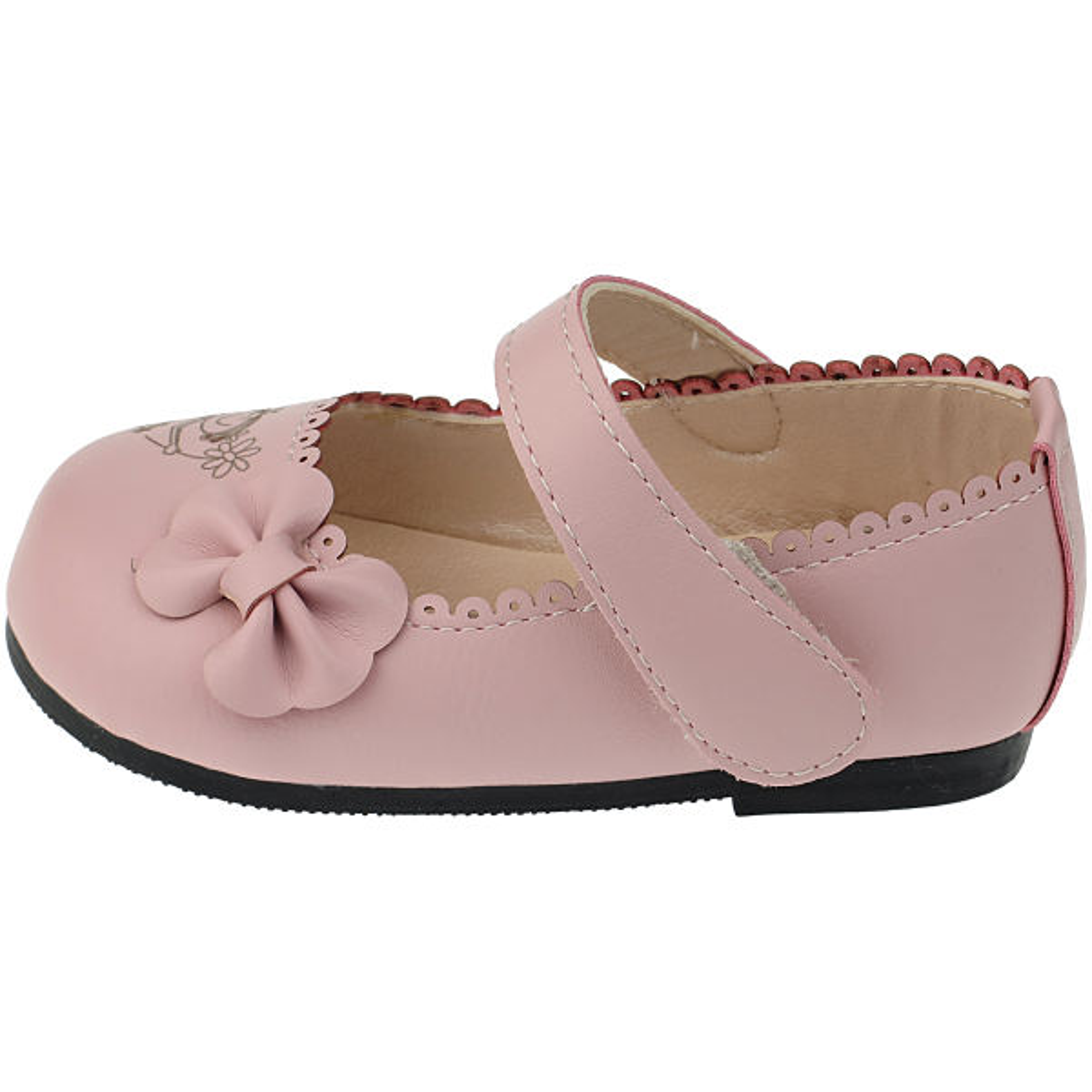 کفش دخترانه مدل انجل رنگ صورتی