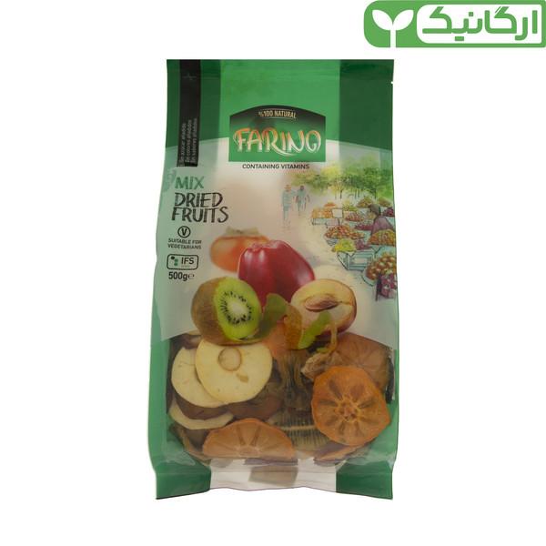 میوه خشک مخلوط ارگانیک فرینو - 500 گرم