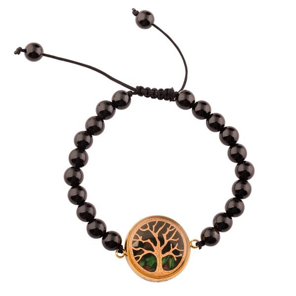 دستبند زنانه الون طرح درخت زندگی کد ONI101