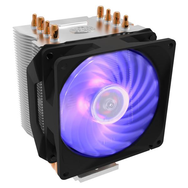 خنک کننده پردازنده کولر مستر مدل HYPER H410R RGB