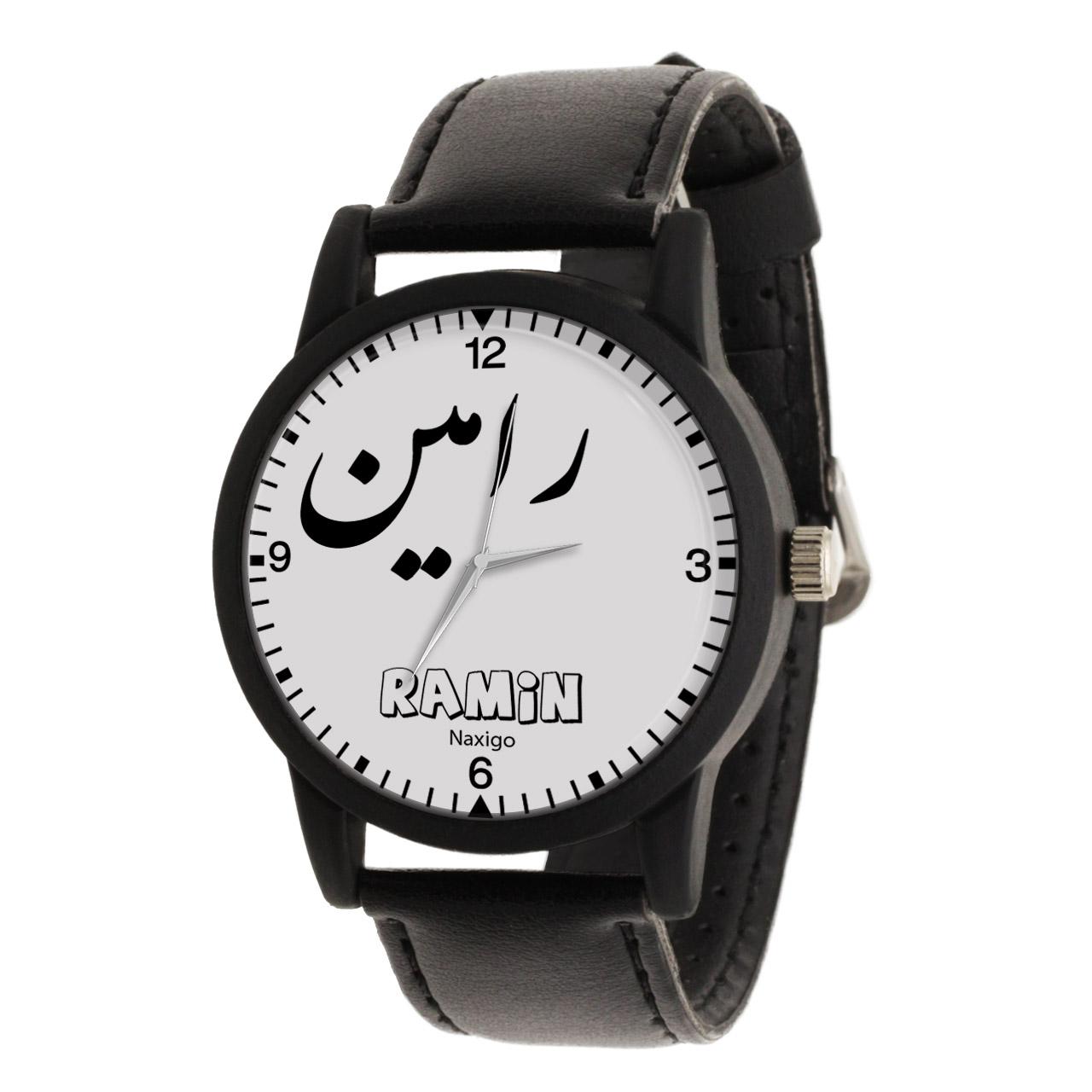 ساعت مچی عقربه ای مردانه ناکسیگو طرح رامین کد LF3350