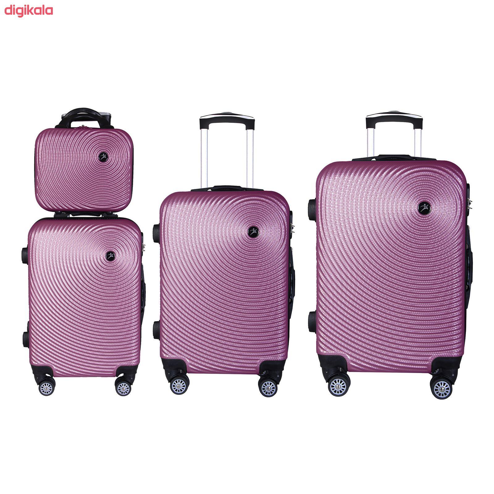 مجموعه چهار عددی چمدان اسپرت من مدل NS001 main 1 2