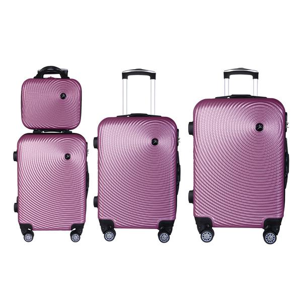 مجموعه چهار عددی چمدان اسپرت من مدل SN100