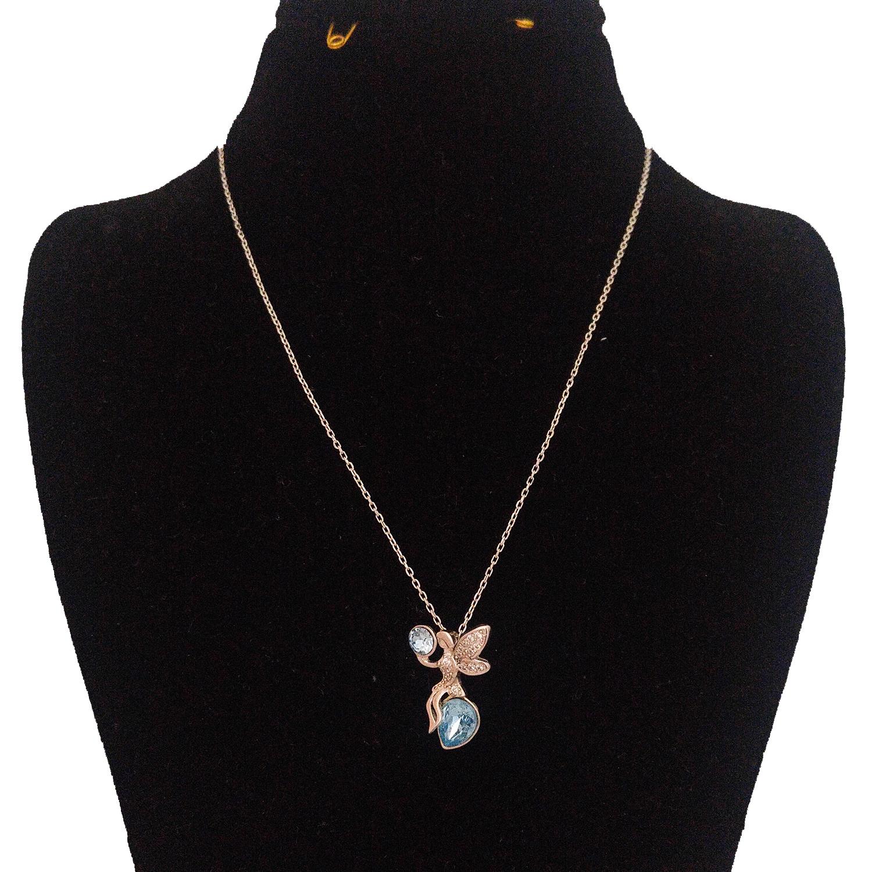 گردنبند نقره زنانه طرح فرشته کد S145