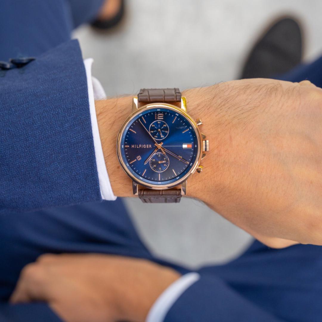 ساعت مچی عقربهای مردانه تامی هیلفیگر مدل 1710418