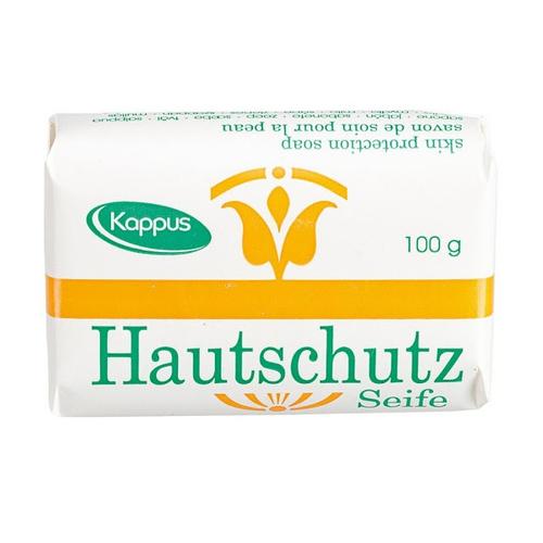 صابون شستشو کاپوس مدل Skin Protection وزن 100 گرم مجموعه 2 عددی