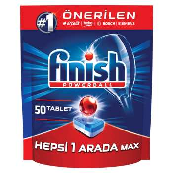 قرص ماشین ظرفشویی فینیش مدل Hepsi 1 Arada بسته 50 عددی