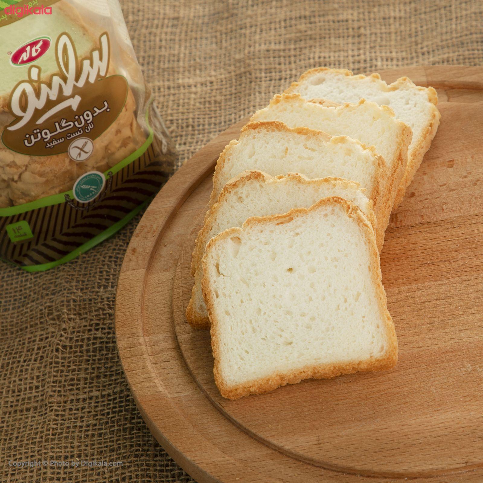 نان تست سفید بدون گلوتن سلینو مقدار 350 گرم main 1 4