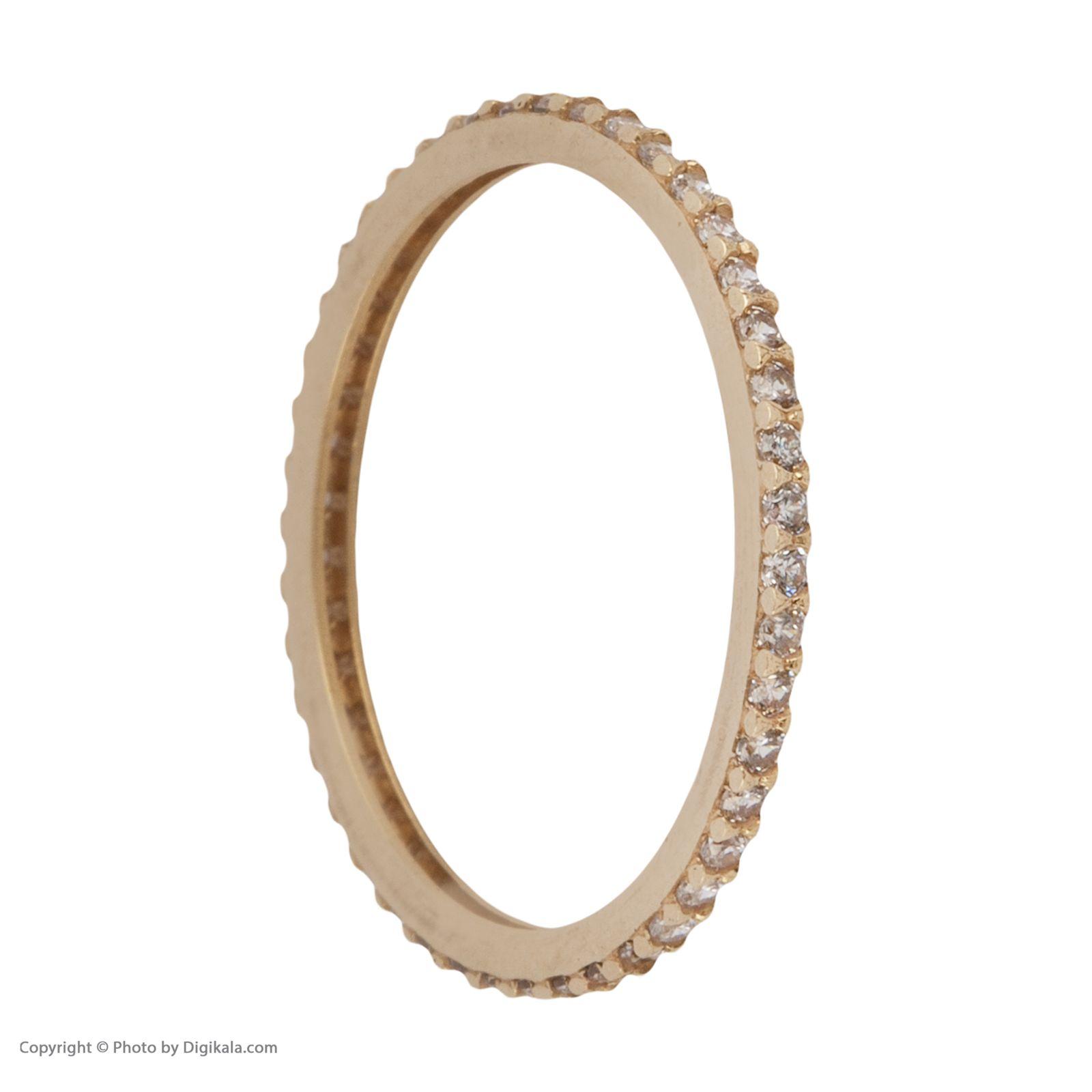 انگشتر طلا 18 عیار زنانه نیوانی مدل NR035 -  - 4