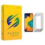 محافظ صفحه نمایش فلش مدل +HD مناسب برای گوشی موبایل سامسونگ Galaxy A30 بسته سه عددی