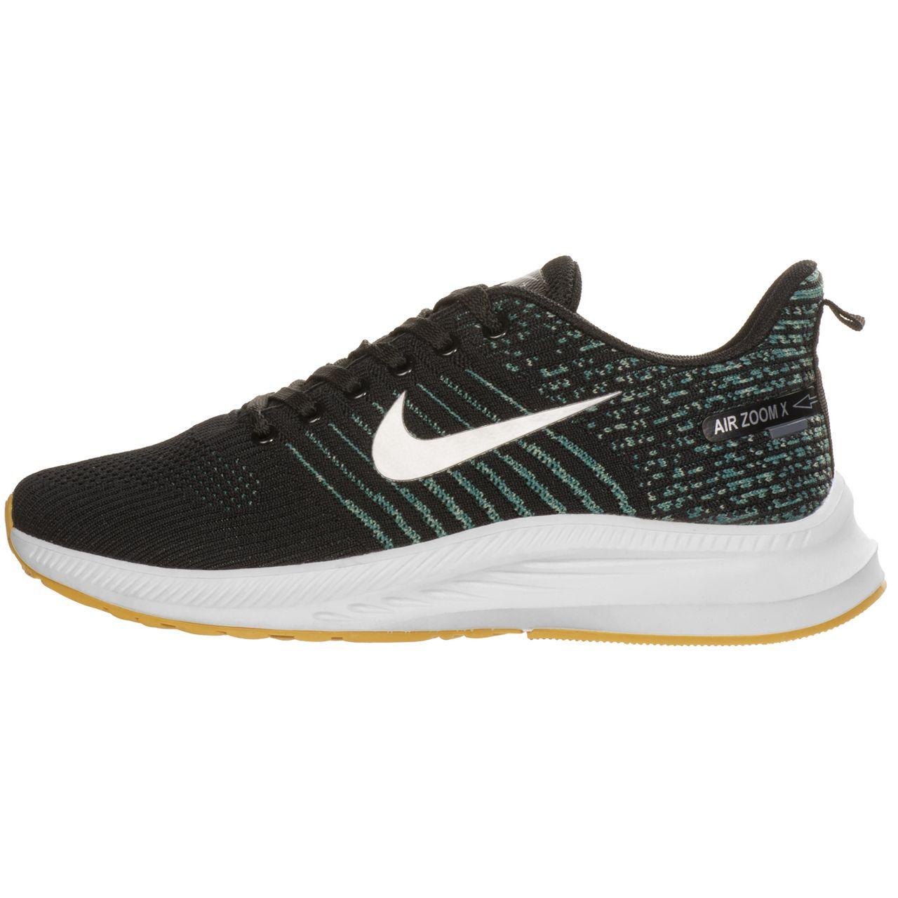 کفش مخصوص دویدن مردانه نایکی مدل AIR ZOOMX FLY BLKGRN-100005