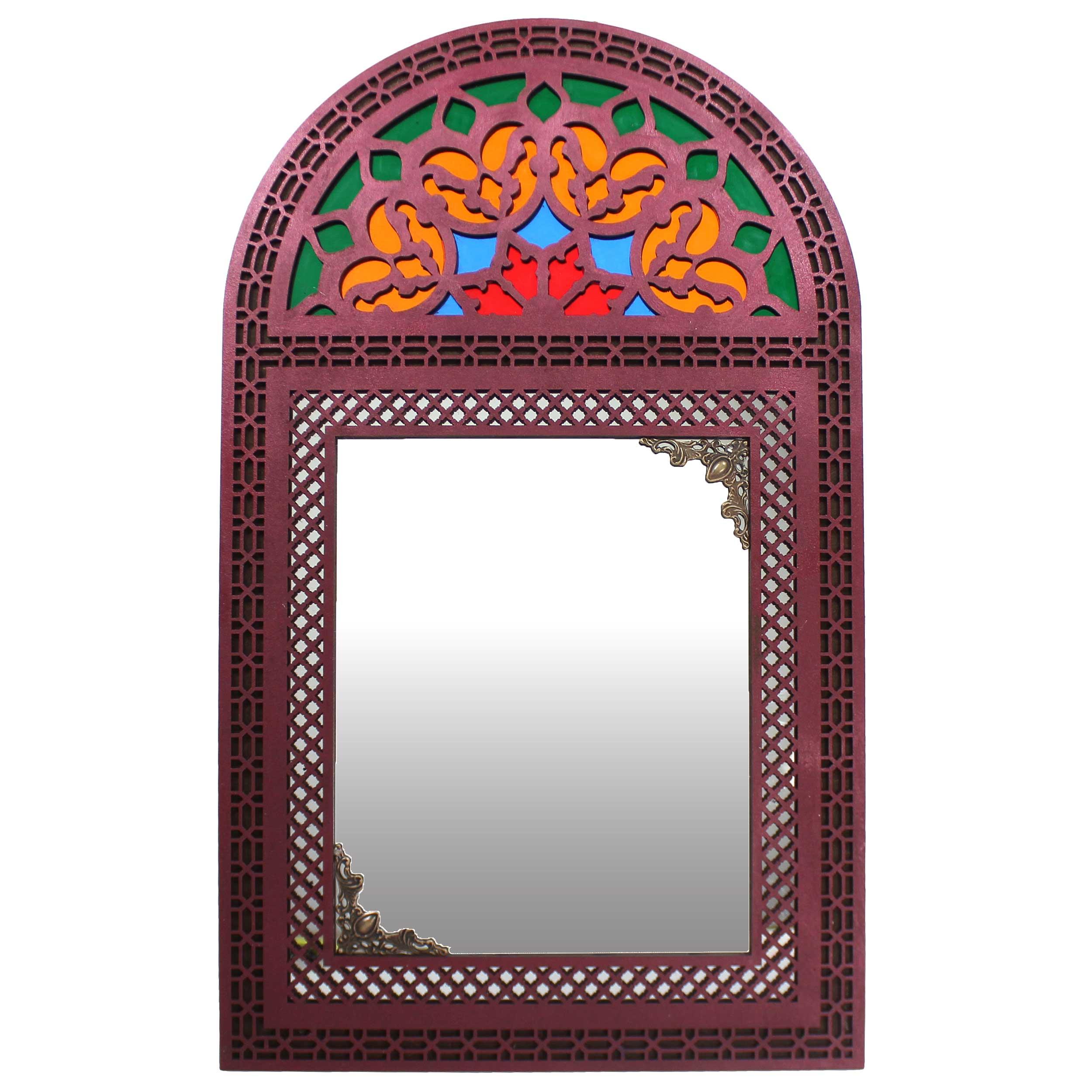 آینه دست نگار مدل پنجره سنتی کد 39.5