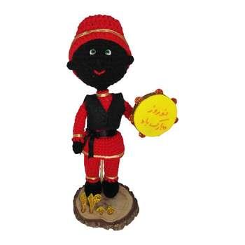 عروسک بافتنی طرح حاجی فیروز مدل MR 223