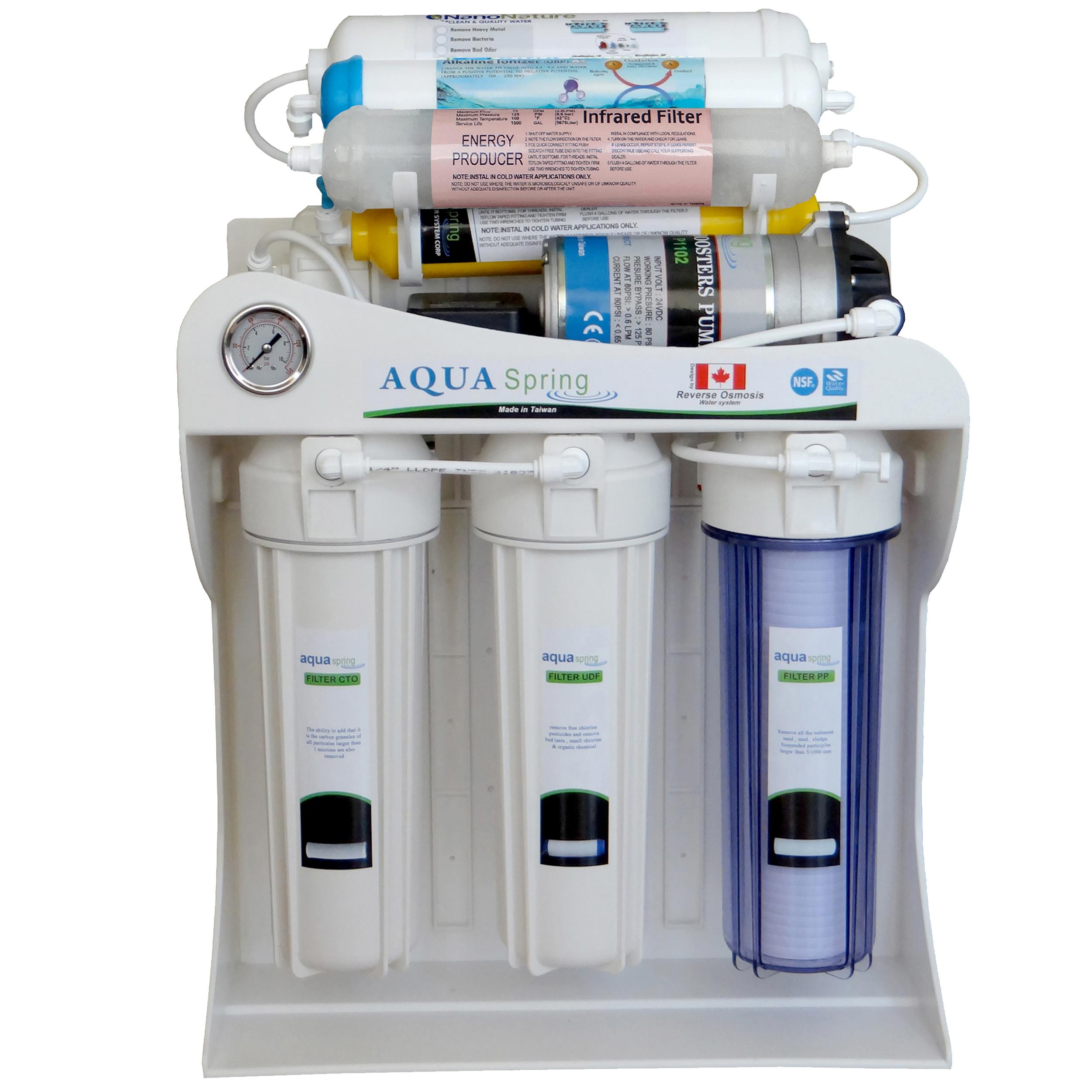 دستگاه تصفیه کننده آب آکوآ اسپرینگ مدل   RO – SF4100