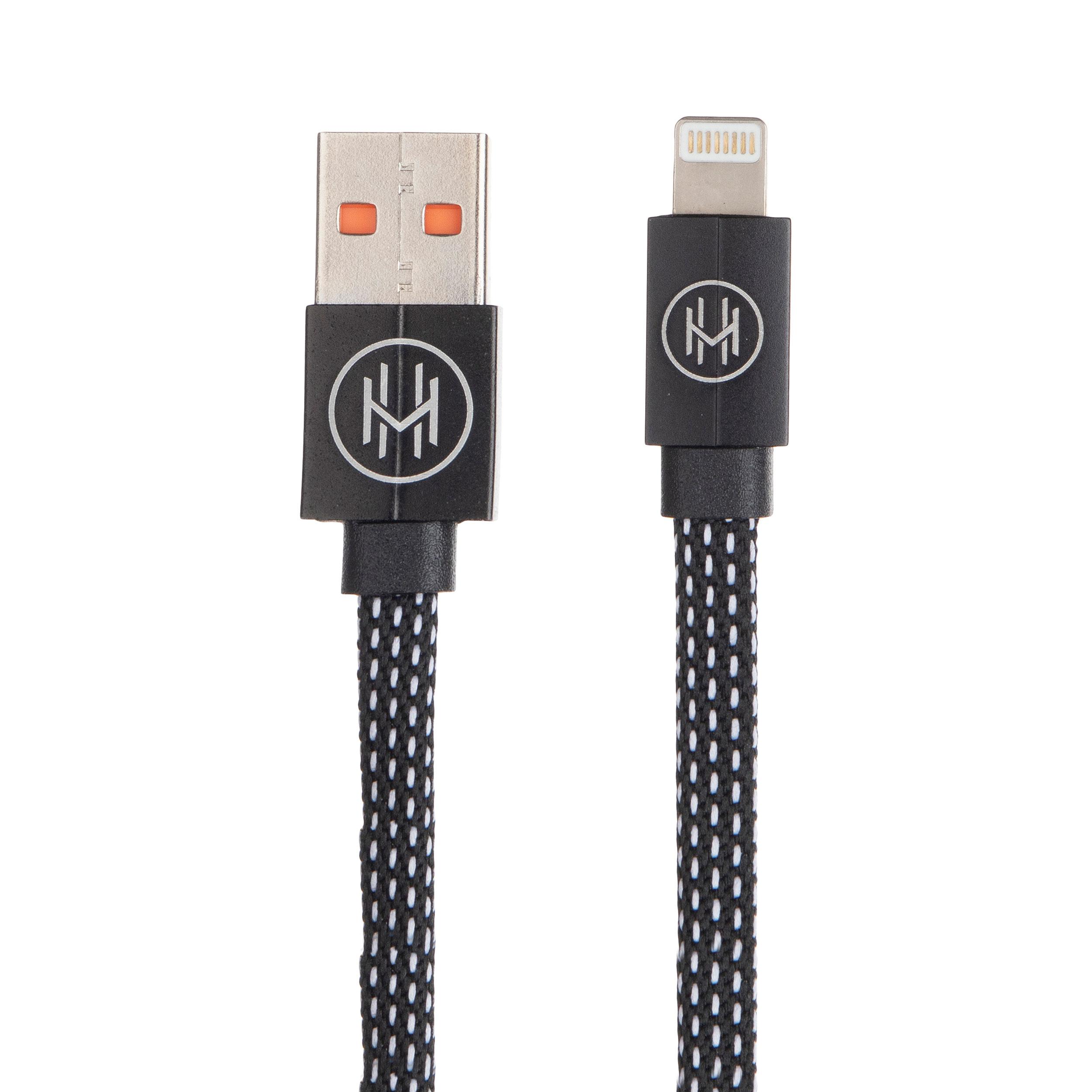 کابل تبدیل USB به لایتنینگ اچ اند ام مدل C05 طول 0.2 متر