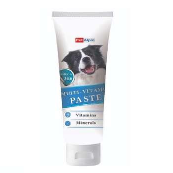 غذای خمیری سگ پتالپین مدل مولتی ویتامین وزن 110 گرم