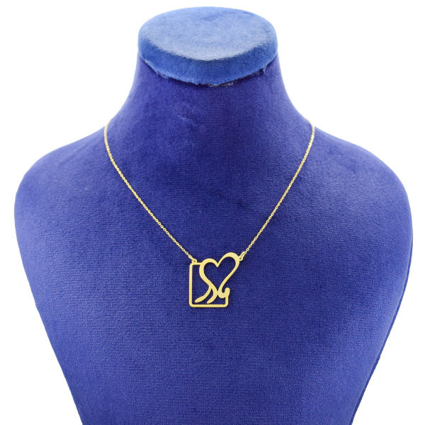 گردنبند طلا 18 عیار زنانه کانیار گالری طرح مادر مدل NE104