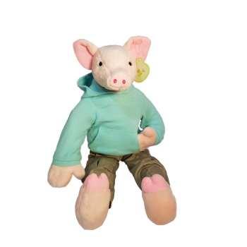 عروسک طرح خوک مدل 001 ارتفاع 35 سانتیمتر