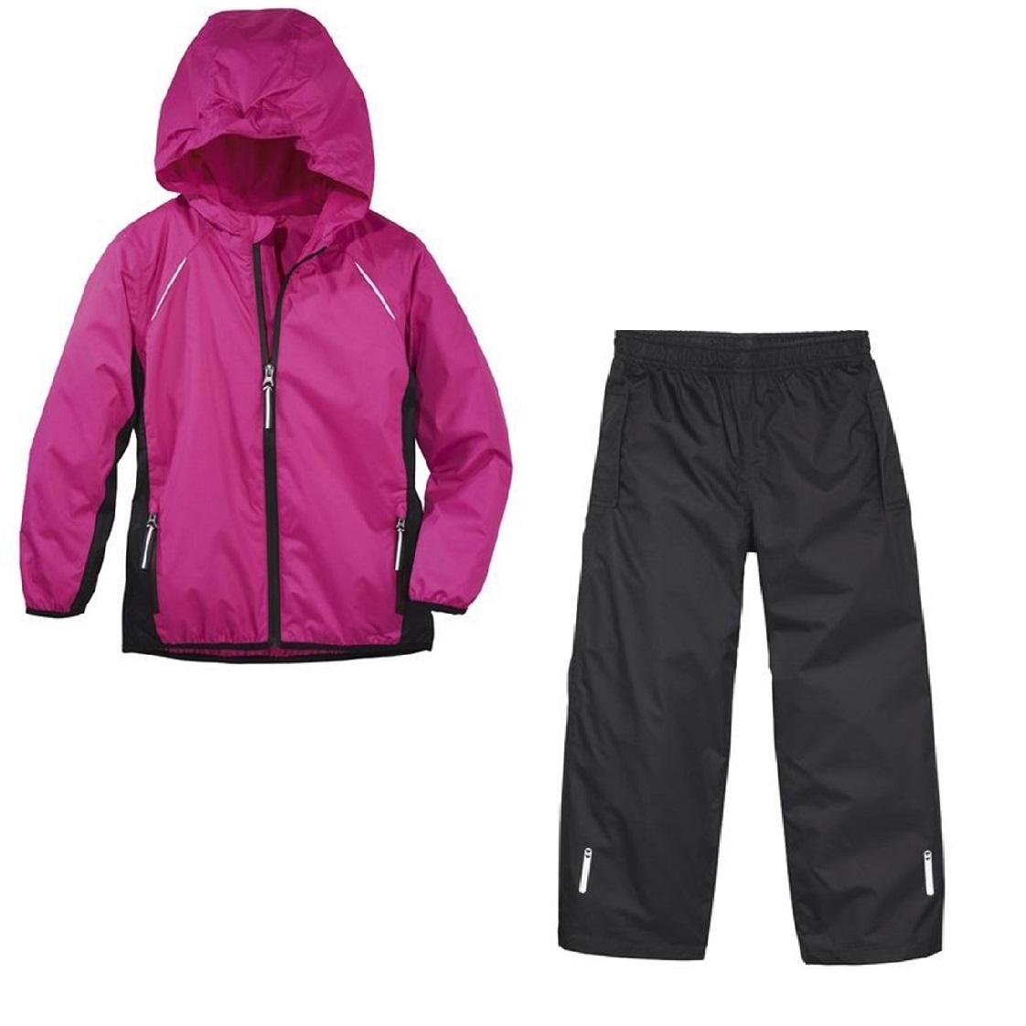 ست گرمکن و شلوار ورزشی دخترانه کرویت کد DK205