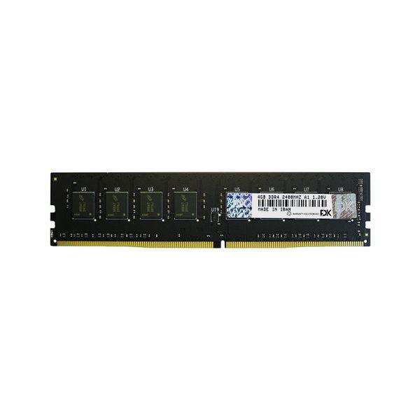 رم دسکتاپ DDR4 تک کاناله 2400 مگاهرتز CL17 فدک مدل A1 ظرفیت 4 گیگابایت