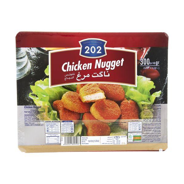 ناگت مرغ 202 وزن 300 گرم