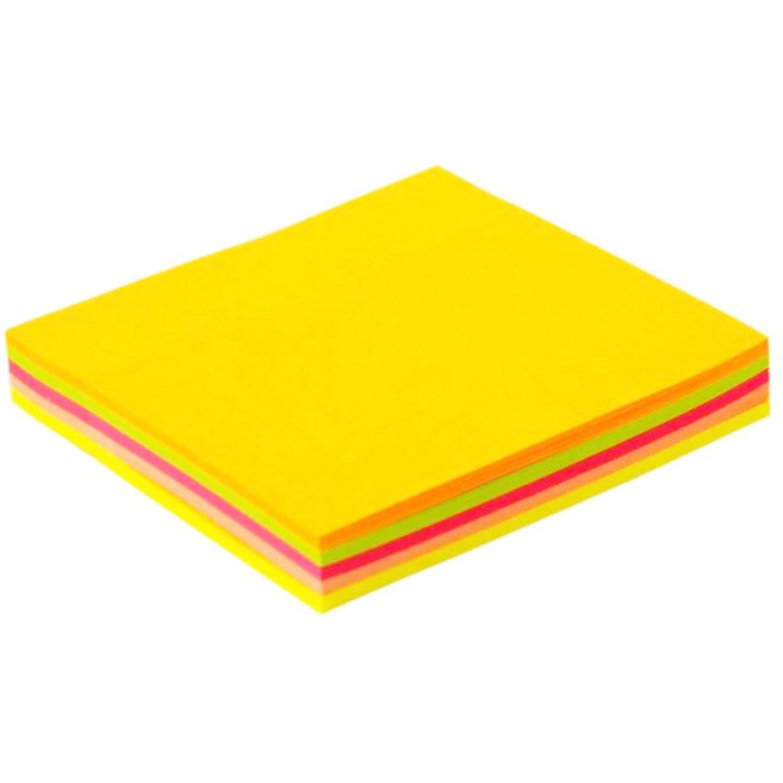 کاغذ چسب دار پییرسز مدل نئونی سایز 75x75 بسته 100 عددی