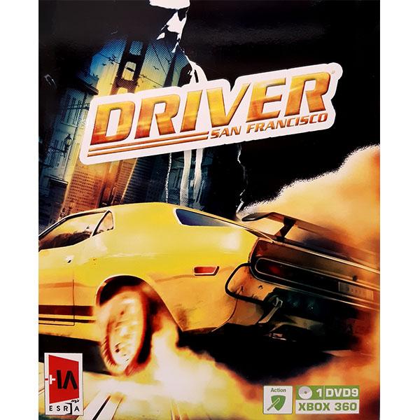 بررسی و {خرید با تخفیف}                                     بازی DRIVER SAN FRANCISCO  مخصوص Xbox 360                             اصل
