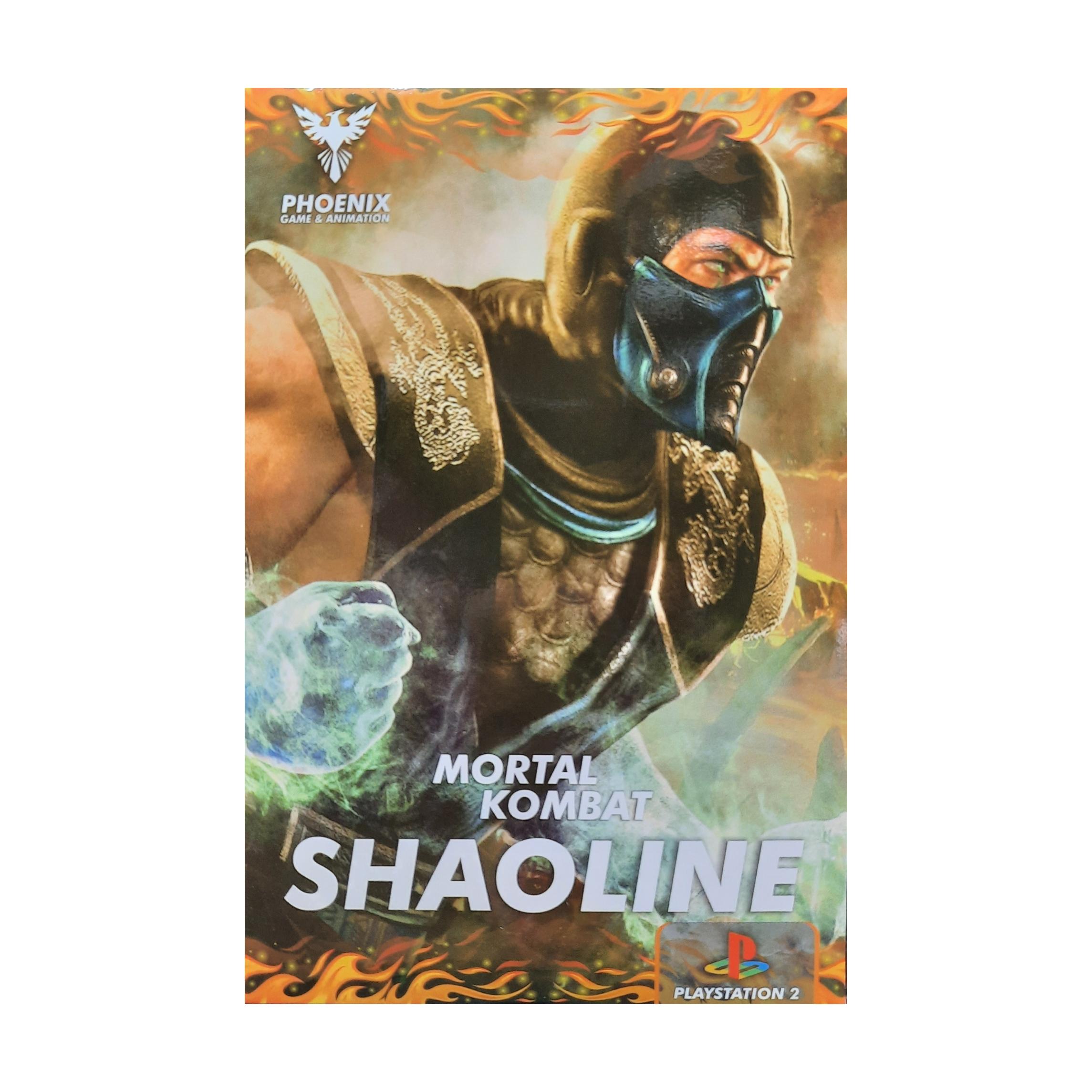 بازی Mortal Kombat SHAOLINE مخصوص ps2